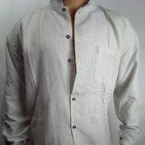 Other - New Handmade Latin Style long sleeve button White